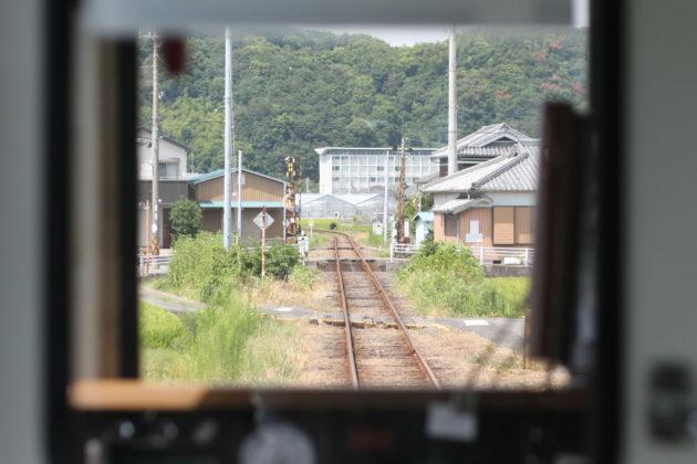 紀州鉄道線の車窓の景色