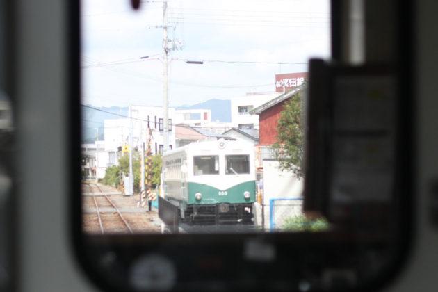 紀伊御坊駅で弁当屋として使われている旧車両