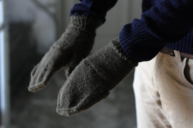 カバーを付けた手袋の様子