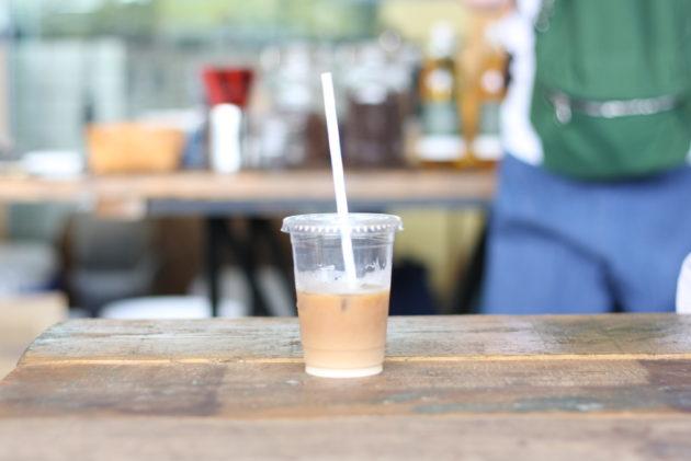 THE ROASTERSのアイスミルクコーヒー