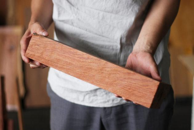 バターケース用の木材